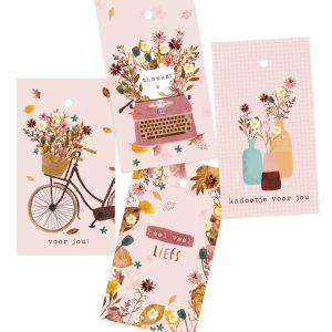 cadeaulabeltjes en minikaartjes
