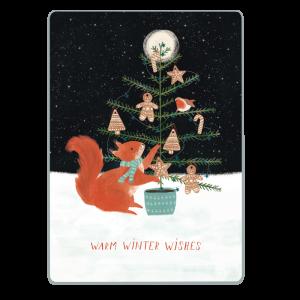 kaarten WINTER en KERST